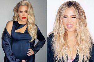 Tak wygląda Khloe Kardashian w ciąży (FOTO)