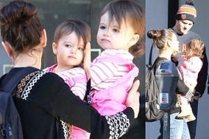 Ashton Kutcher i Mila Kunis z córką Wyatt! (ZDJĘCIA)