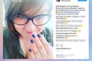 """Dominika Gwit chwali się """"magicznymi pazurkami"""" na Instagramie"""