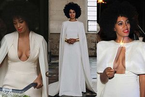 Siostra Beyonce na białym weselu.. w 3 KREACJACH! (FOTO)