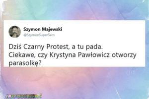 Szymon Majewski wyśmiewa Krystynę Pawłowicz