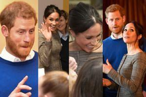 Meghan Markle wdzięczy się do dzieci podczas trzeciego oficjalnego wyjścia z Harrym (ZDJĘCIA)