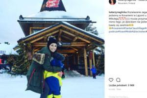 Kasia Glinka pozdrawia z... Laponii (FOTO)