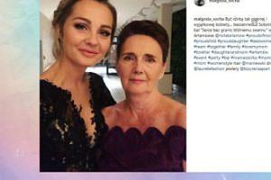Małgorzata Socha pozuje z mamą (FOTO)