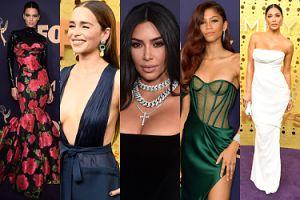 Tłum gwiazd na gali Emmy: Kim Kardashian, Zendaya, Kendall Jenner... (ZDJĘCIA)
