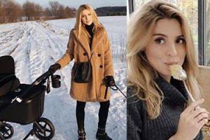 """Kasia Tusk pokazała zdjęcie z wózkiem! """"No words needed"""""""