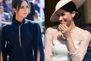"""Odważne wyznanie Meghan Markle: nigdy nie założy sukienki od Victorii Beckham. """"Nie jestem wystarczająco smukła"""""""