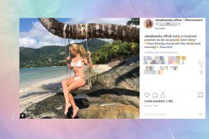 Ula Radwańska chwali się ciałem w bikini