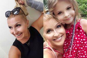 """Katarzyna Skrzynecka wyśmiewa zarzuty internautów o retuszowanie zdjęć córki: """"Ech, biedni są tacy FRUSTRACI"""""""