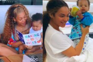 """Beyonce pokazuje bliźniaki w dokumencie o """"Królu Lwie"""". Do którego z rodziców bardziej podobne?"""