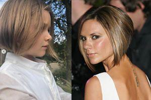 Córeczka Beckhamów obcięła włosy na krótko! Wygląda jak Victoria?