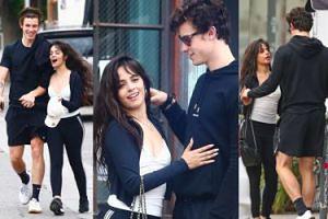 Camila Cabello i Shawn Mendes przytulają się i trzymają za ręce w drodze na wspólny brunch (ZDJĘCIA)