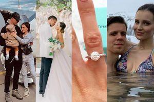 Trzy lata małżeństwa Mariny i Wojtka: przeprowadzki, życie w luksusie i mały Liam (ZDJĘCIA)