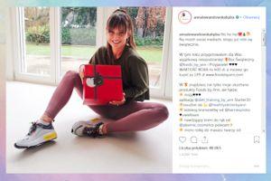 Szczodra Lewandowska promuje świąteczną ofertę swojego sklepu