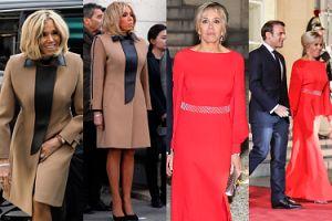 Brigitte Macron zadaje szyku w eleganckich stylizacjach (ZDJĘCIA)