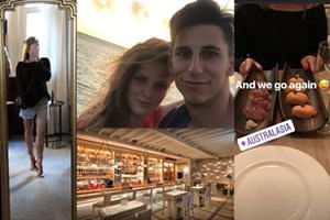 Wystrojona Pola Lis poszła z chłopakiem na romantyczną randkę w Manchesterze! (FOTO)