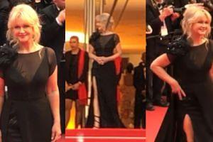 Cannes 2019: Zjawiskowa Grażyna Torbicka podbija czerwony dywan festiwalu (WIDEO)
