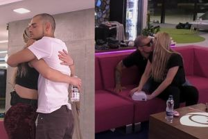 """""""Big Brother"""": Madzia i Oleh CAŁUJĄ SIĘ NAMIĘTNIE przed kamerami. """"Złamie jej serce"""""""