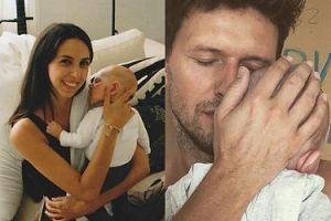 """Sasha Knezevic chwali się dzieckiem i partnerką na Instagramie. Fani: """"Piękna rodzina"""" (FOTO)"""