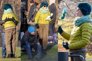 Zimowy relaks Braciaka i Buzek: piesek, leżaczki i buziaczki (ZDJĘCIA)