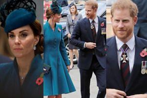 Książę Harry i księżna Kate na oficjalnej uroczystości w Westminister. Koniec plotek o konflikcie między rodzinami? (FOTO)