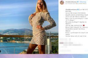 Ewa Chodakowska w kusej sukience przekonuje, że życie nie jest krótkie