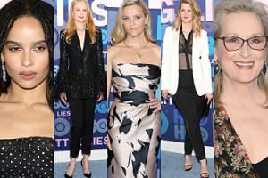 """Nicole Kidman, Reese Witherspoon i Meryl Streep promują drugi sezon """"Wielkich kłamstewek"""" (ZDJĘCIA)"""