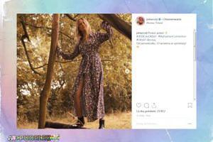 Jessica Mercedes łazi po drzewach w nowej kampanii