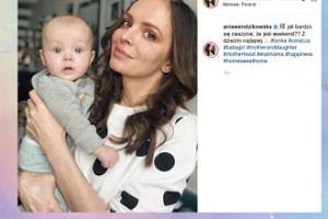 Ania Wendzikowska relaksuje się z córką