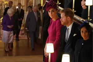 Kate i Meghan na przyjęciu księcia Karola UDAWAŁY, ŻE SIĘ NIE WIDZĄ! (WIDEO)