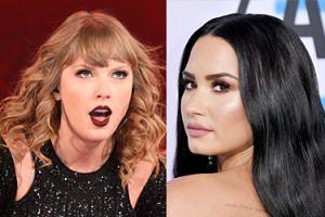 """Demi Lovato staje w obronie menedżera skonfliktowanego z Taylor Swift: """"Przestańcie szargać ludziom opinie lub ich zastraszać"""""""
