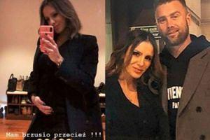 """Sara Boruc dementuje, że wyszczupla swoje ciążowe zdjęcia: """"Mam brzusio przecież"""""""
