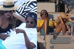 Tak wyglądają wakacje Beyonce i Jaya-Z: rejs prywatnym jachtem i kąpiele w basenie (FOTO)