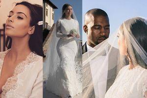 """Sentymentalna Kim Kardashian wspomina ślub z Kanye: """"Wyszłam za swojego najlepszego przyjaciela"""" (ZDJĘCIA)"""