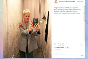 Małgosia Kożuchowska prosi o modową poradę