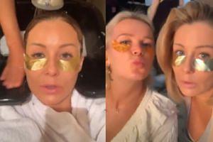 """Oklejone złotkiem Małgorzata Rozenek i Maffashion we wspólnej kampanii reklamowej: """"Jesteśmy golden girls"""""""