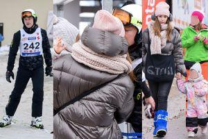Kuba Wesołowski pozdrawia z narciarskiej wycieczki w towarzystwie żony i córeczki (ZDJĘCIA)