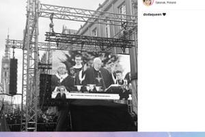 Dorota Rabczewska-Stępień na pogrzebie Pawła Adamowicza