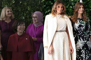Małgorzata Tusk pozuje w skromnej stylizacji wśród żon polityków na szczycie G20 (FOTO)