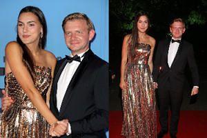 Bal TVN 2019. A jednak! Rafał Zawierucha i jego dziewczyna czasem potrafią się ubrać stosownie do okazji