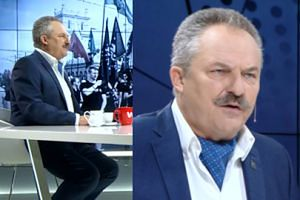"""Natchniony Jakubiak barwnie o przeciwnikach politycznych: """"Zamknęli się w skorupce. W tej skorupce siedzą robaczki"""""""