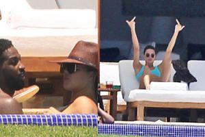 Khloe Kardashian wypoczywa z niewiernym chłopakiem i siostrą Kendall w Meksyku (ZDJĘCIA)