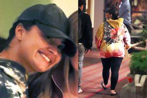 Odmieniona Demi Lovato przyłapana przez paparazzi przed hotelem w Londynie (FOTO)