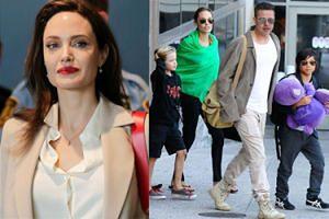 Przełom w stosunkach Angeliny Jolie i Brada Pitta - pozwoliła mu spędzić wakacje z dziećmi!