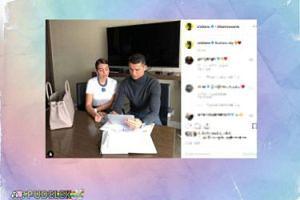 Cristiano z dziewczyną załatwiają biznesy na Instagramie