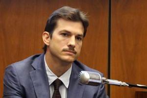 Wąsaty Ashton Kutcher jako świadek w sprawie MORDERSTWA!