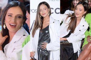 Marina Łuczenko serwuje wachlarz słodkich min na pokazie mody. Urocza? (ZDJĘCIA)
