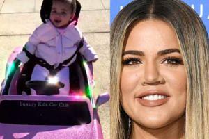 Ośmiomiesięczna córka Khloe Kardashian dostała pierwszego Bentleya...
