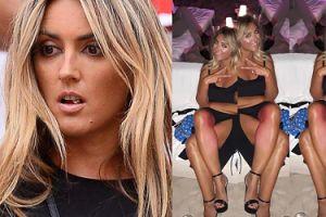 Karolina Szostak chwali się czerwonymi nogami na plaży w Cannes. PRZESADZIŁA Z OPALANIEM?