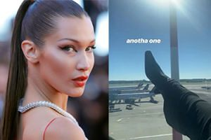 """Bella Hadid przeprasza muzułmanów za zdjęcie z butem na tle arabskich samolotów: """"Nie chciałam nikogo obrazić"""""""